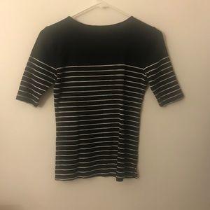 Ann Taylor Tops - Ann Taylor Striped Shirt